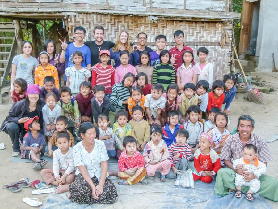 Hsipaw Classroom Teach Myanmar