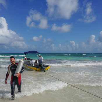 being a dive instructor is a great way to get paid to travel