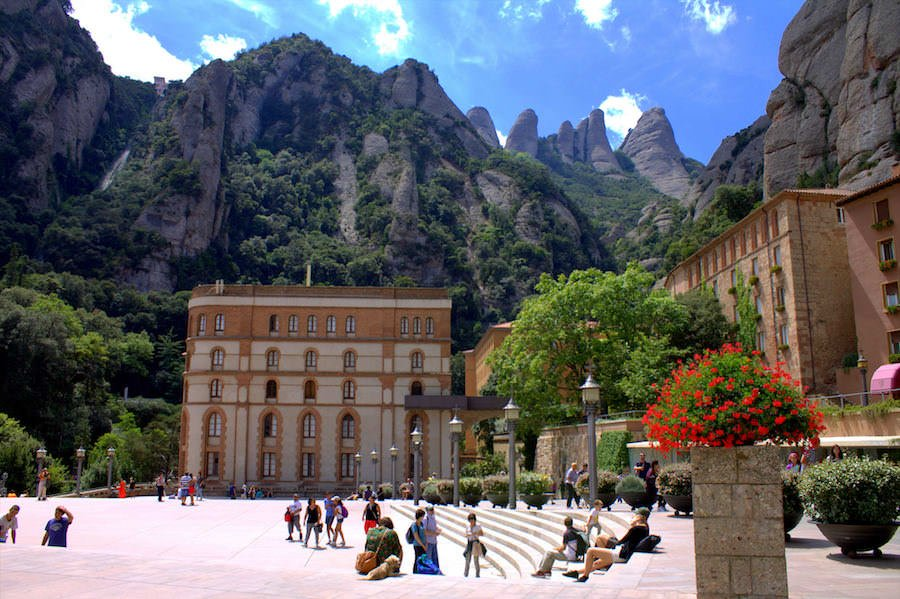 beautiful montserrat spain