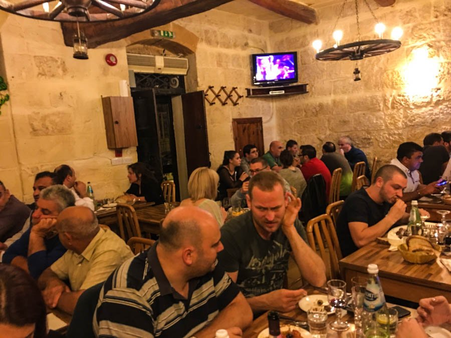 the best restaurants in malta tal ingliz mgarr