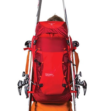 choosing a backpack for backcountry