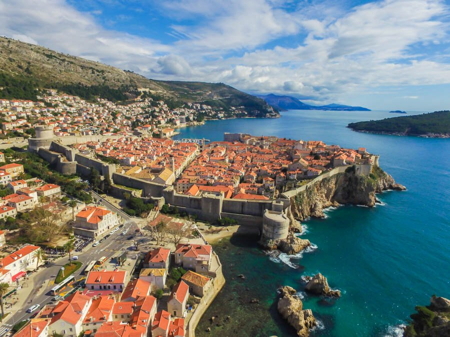 travelling to dubrovnik with a drone