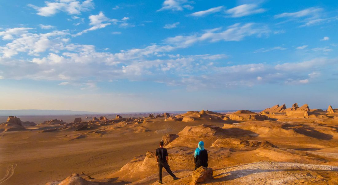 Iran Travel Best Country Friendly People Hiking Desert