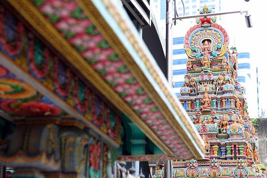 hindu temple silom road bangkok