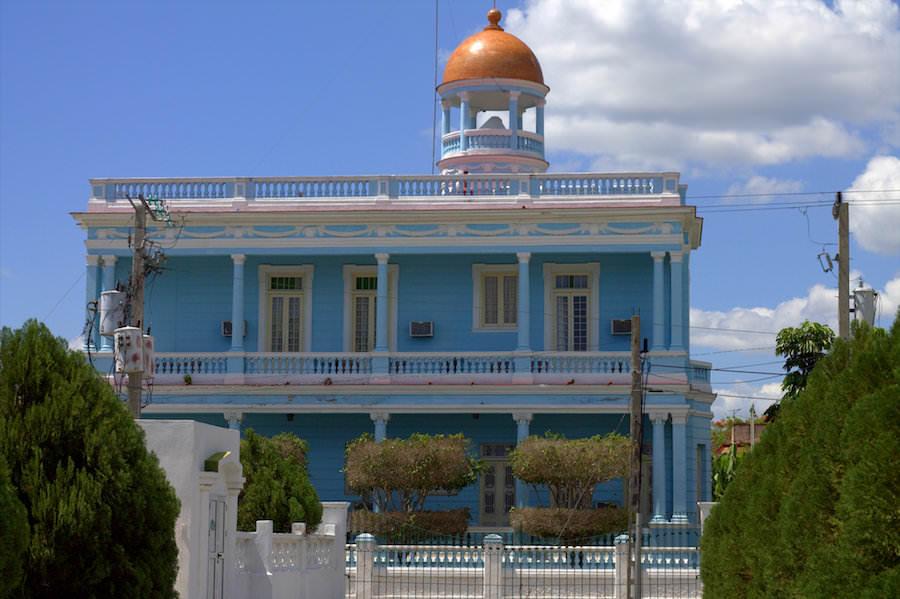 hostal palacio azul punta gorda cuba
