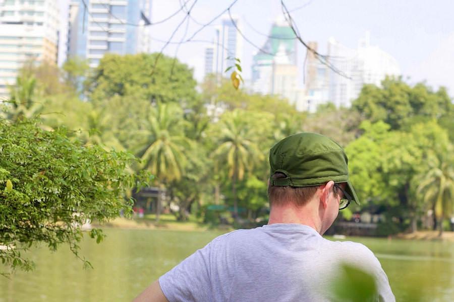 lumphini park silom road bangkok