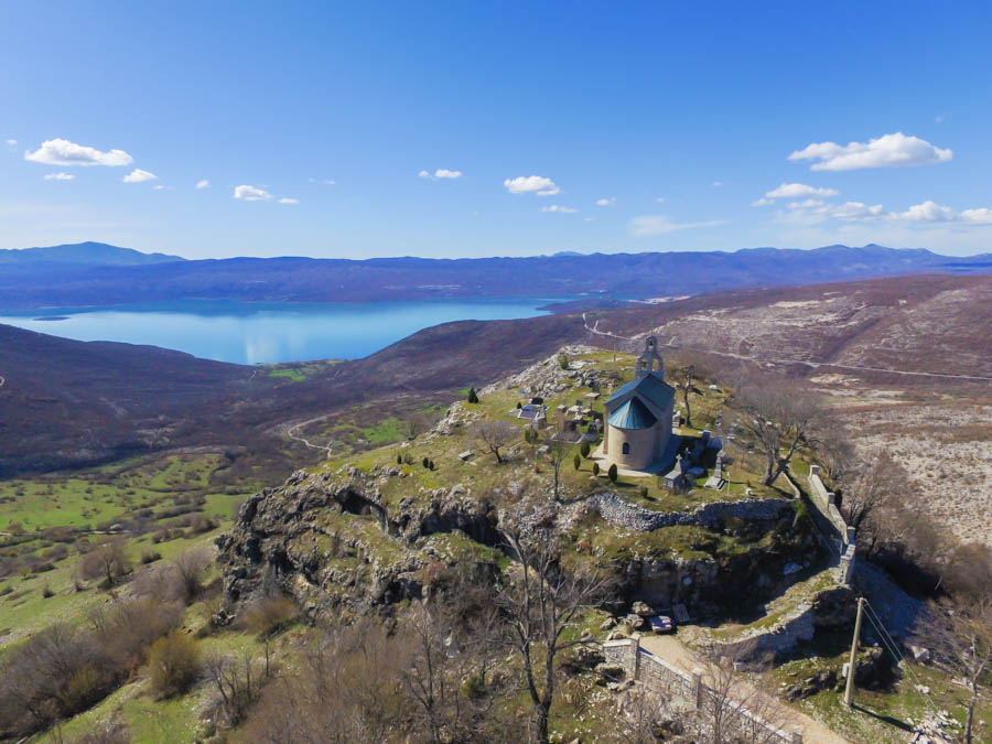 travelling with a drone in montenegro