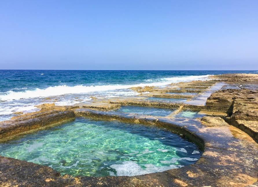 swimming hole sliema malta