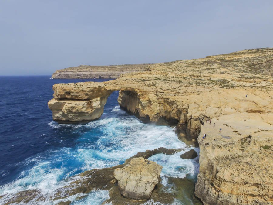 travel to malta and the azure window