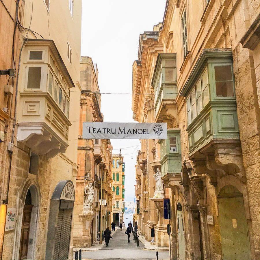 travel to valletta malta