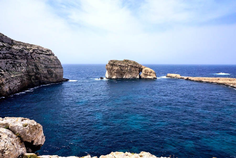 what to do in gozo malta visit fungus rock