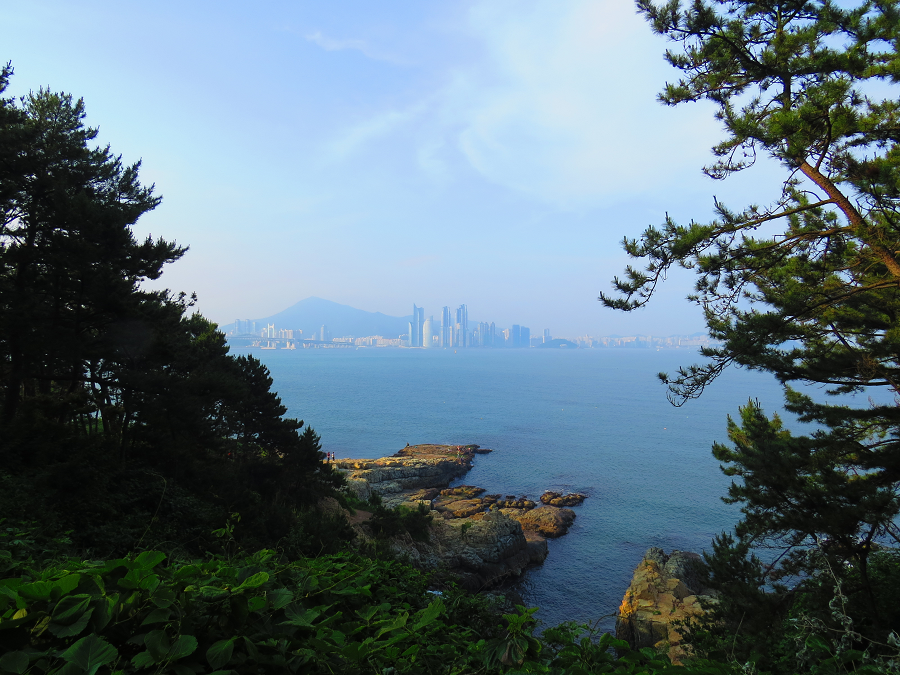 hiking in south korea igidae trail