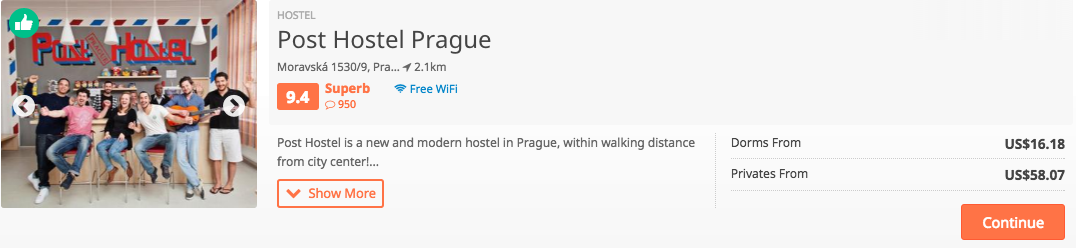 travelling to prague where to stay in hostels