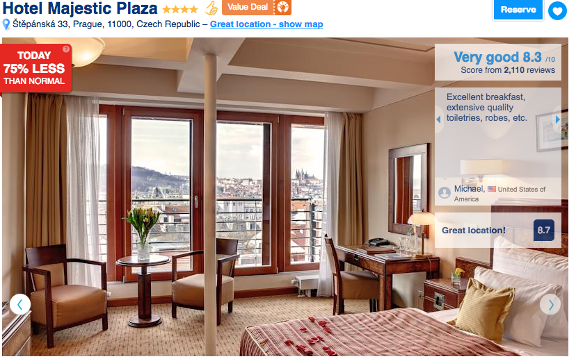 travel in prague hotels