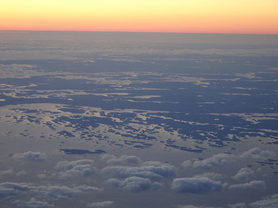 The Finnish Archipelago from above, Finland