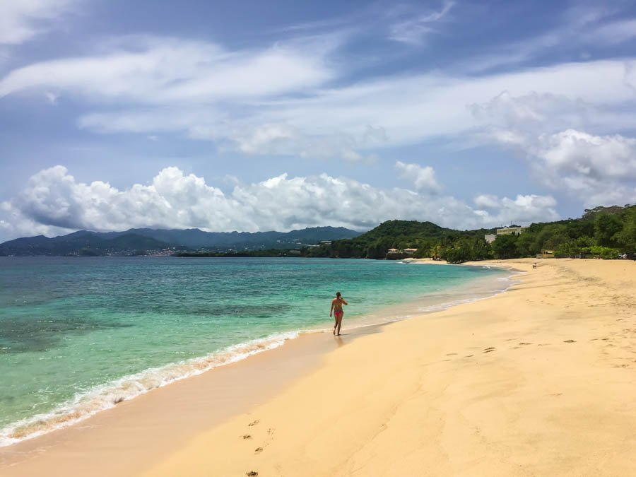 the best beaches in grenada magazine beach