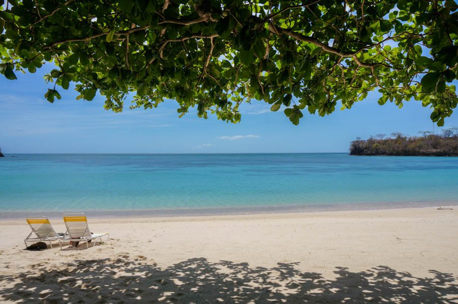 best beach in grenada morne rouge