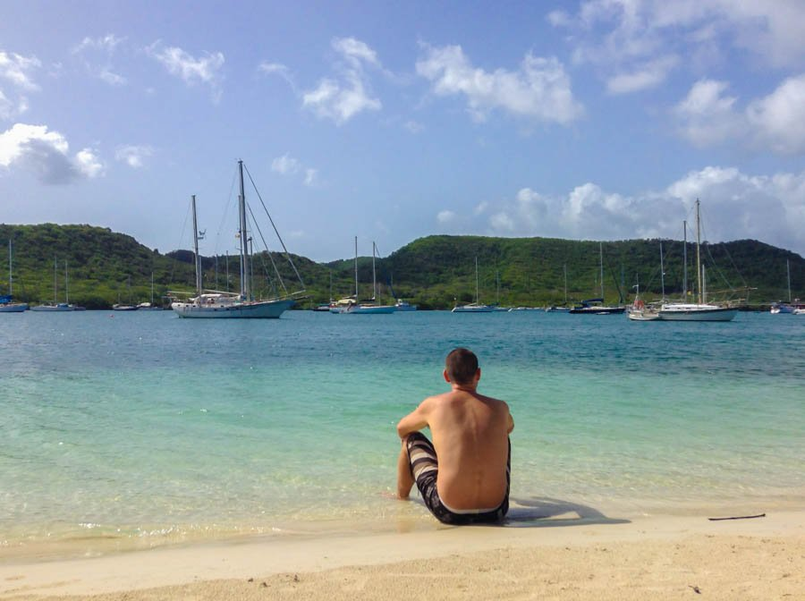 best beach in grenada hog island