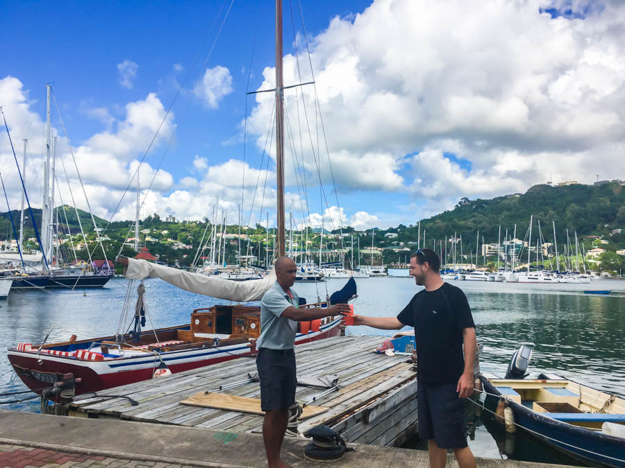 sailing in grenada with savvy