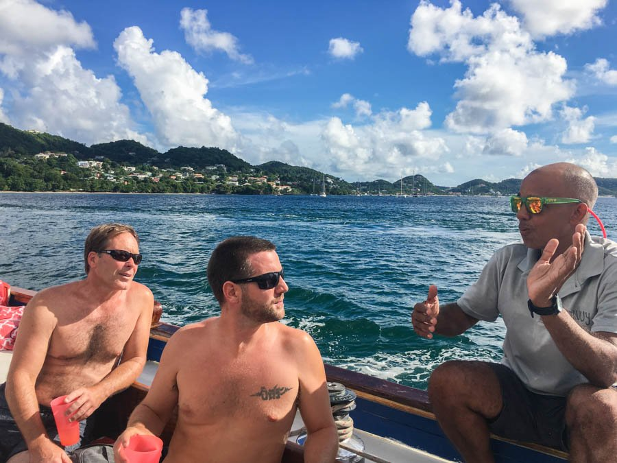 sailing in grenada boatbuilding with savvy tours