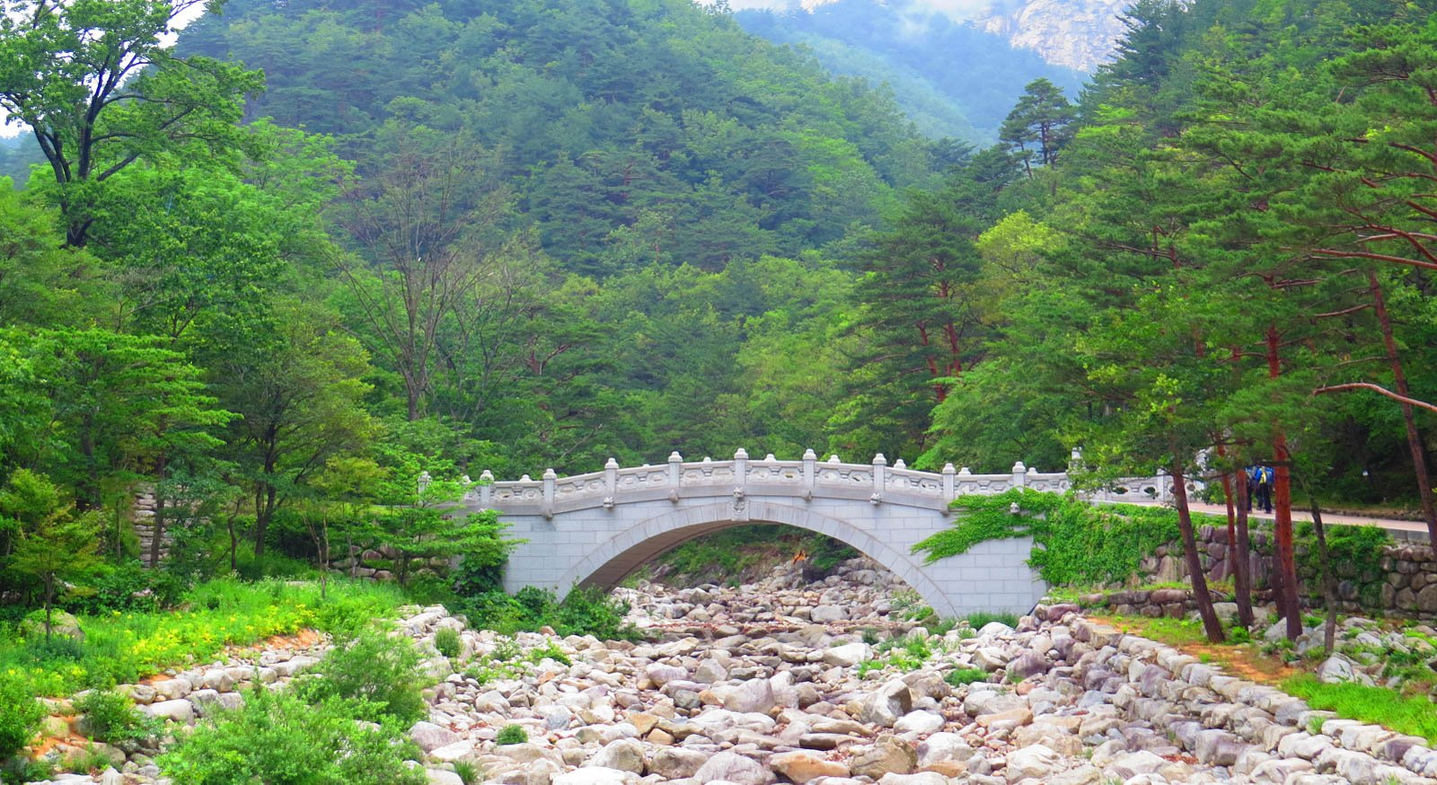 3 day hikes in south korea
