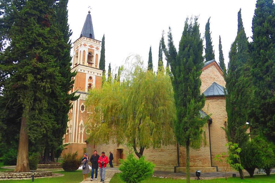travel to Georgia wineries Bodbe Monastery