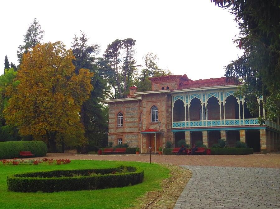 travel to Georgia chavchavadze estate