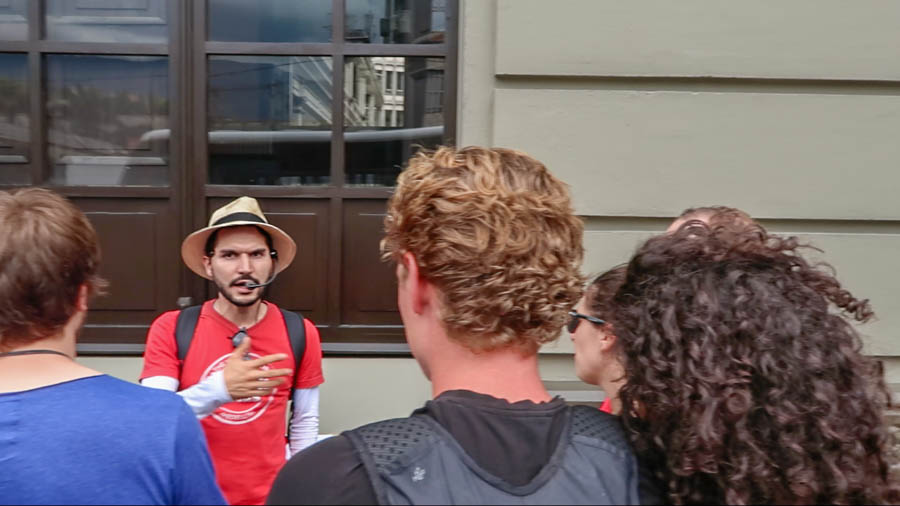 Pablo Free Walking Tour Guide