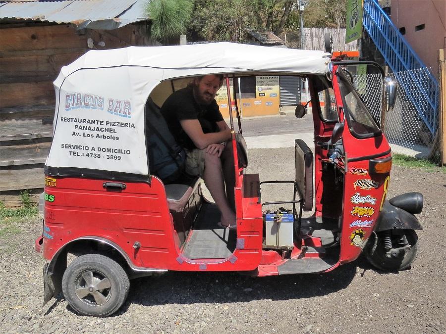 Guatemala Tuk Tuk