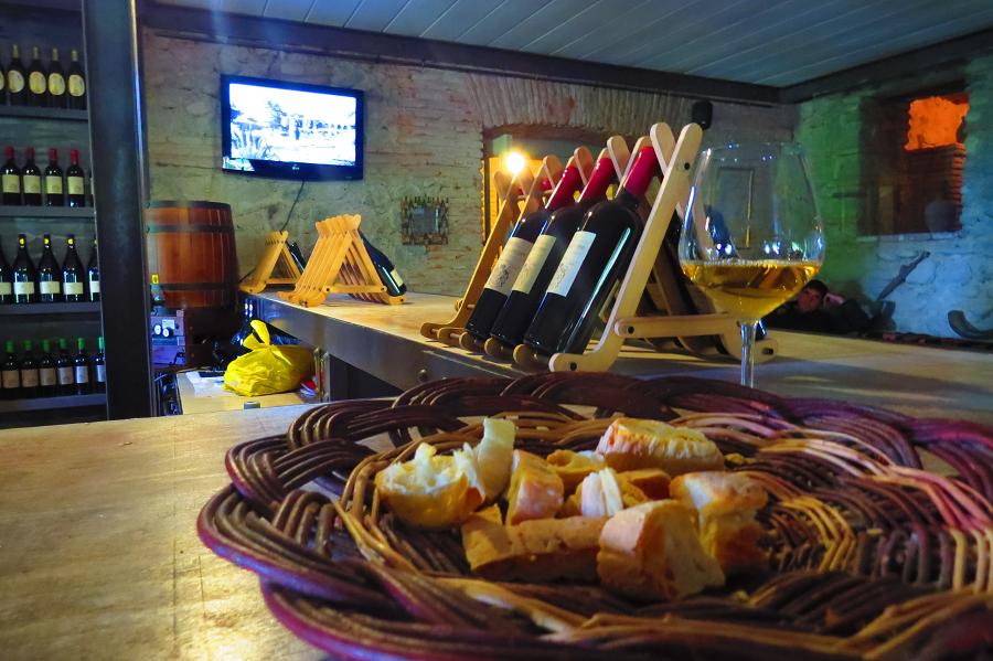 travel Georgia wine tasting in chavchavdze