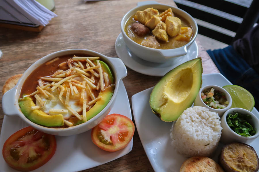 where to eat in medellin 3 tipicos backpacking