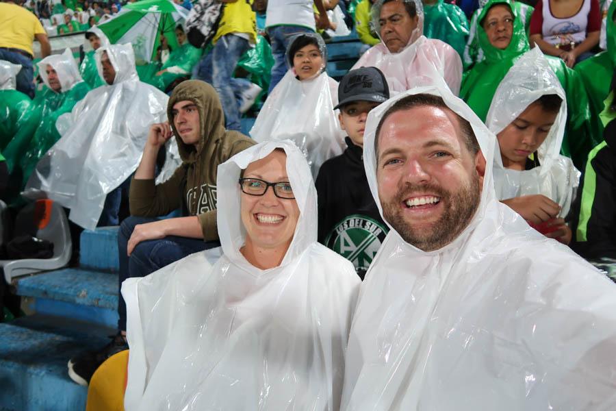 travel to medellin go to a football match