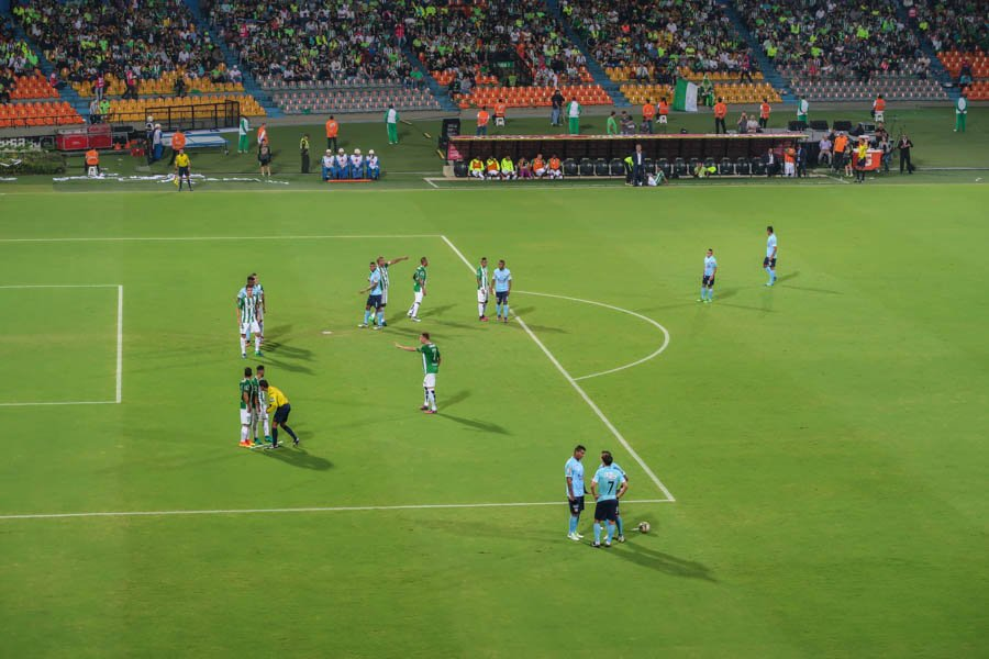 medellin colombia football match