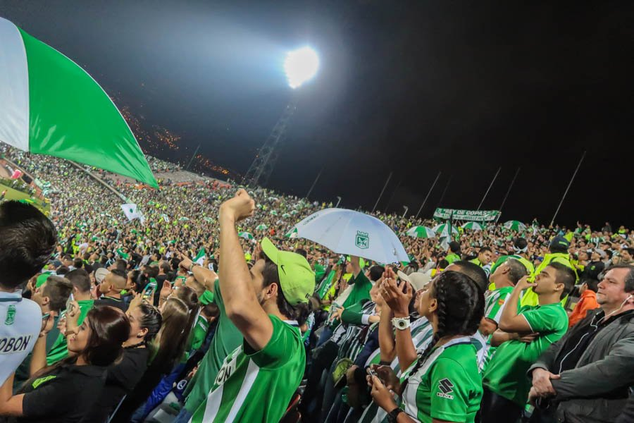 a football game in medellin colombia