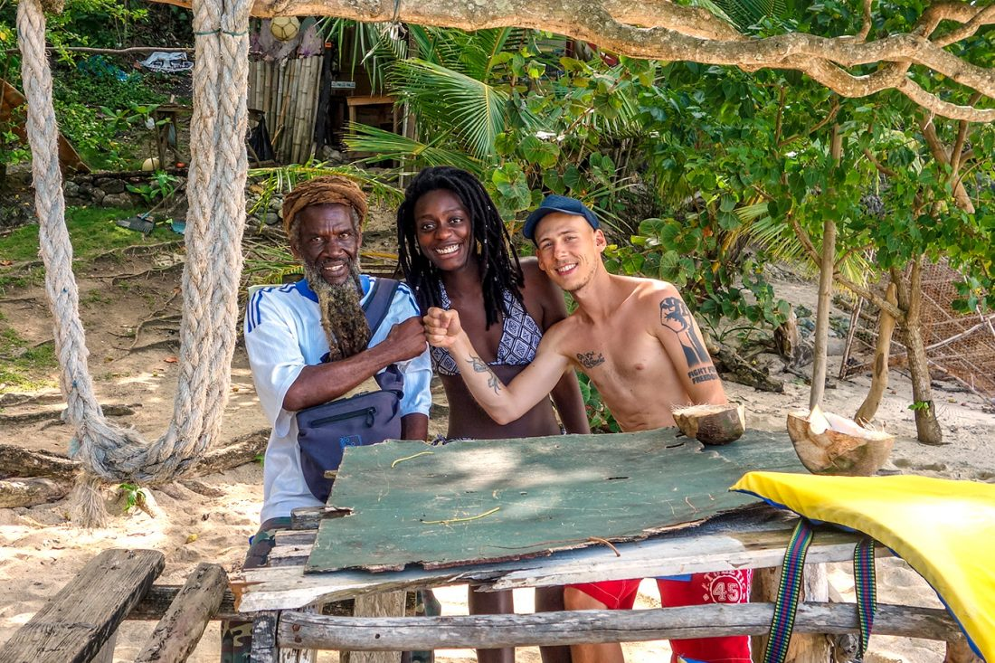 backpacking in jamaica