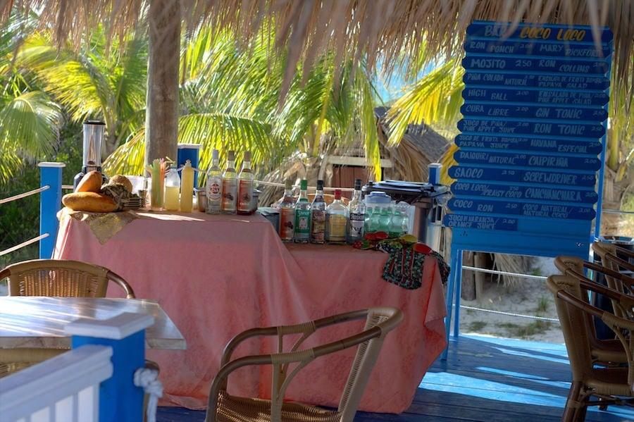 playa pilar beach bar cuba