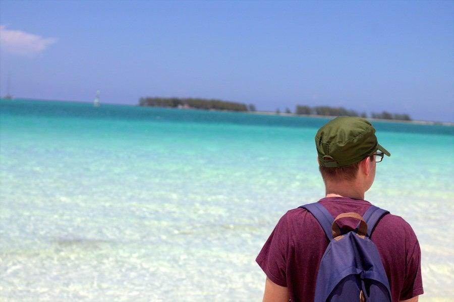 playa pilar beach cayo guillermo, cuba