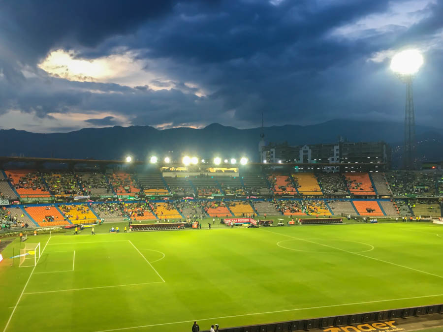 travel to medellin watch a football game