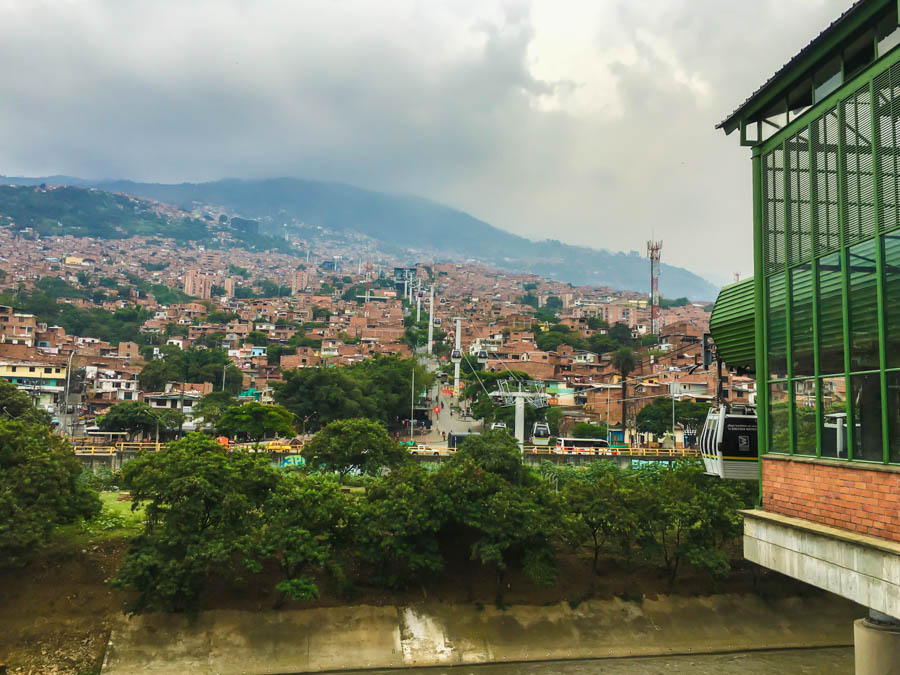 travel to medellin take the metrocable