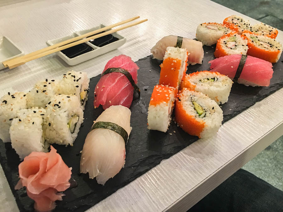 travel to medellin sushi shops in el poblado