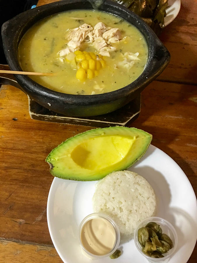travel to bogota what to eat