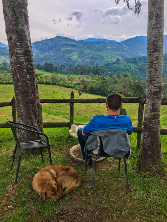 where to stay in salento colombia
