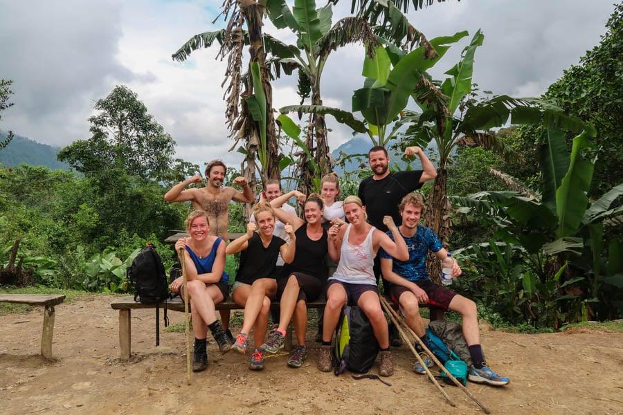 hiking the ciudad perdida trail in colombia