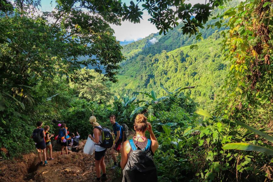 hiking the ciudad perdida in colombia