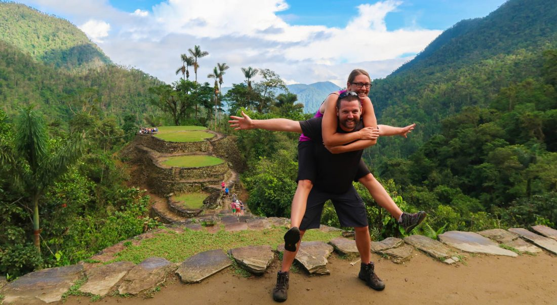 hiking the ciudad perdida trek in colombia