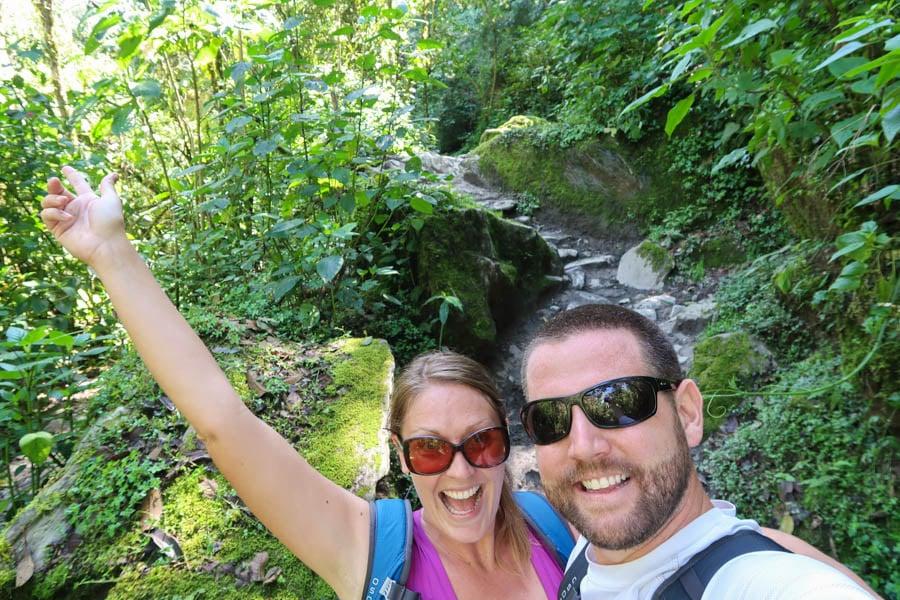 travel to salento hike the valle de cocora