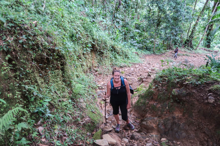 hiking the ciudad perdida lost city in colombia