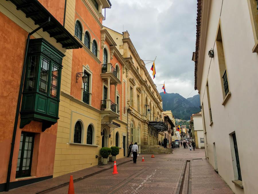travelling to bogota la candalaria