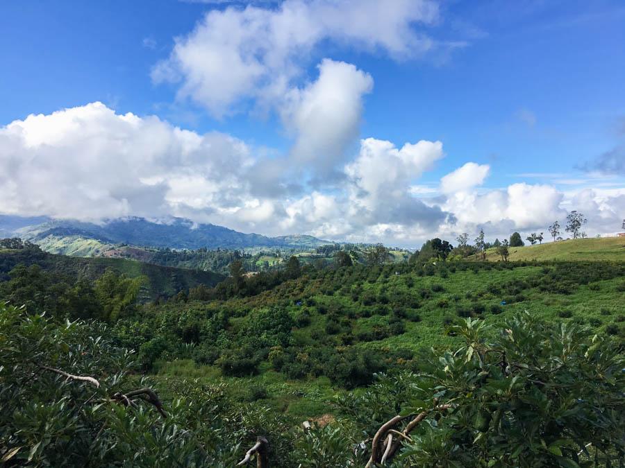 travel to salento colombia stay at la serrana
