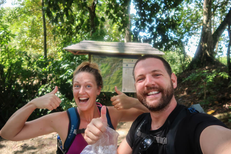 hiking to the ciudad perdida in colombia